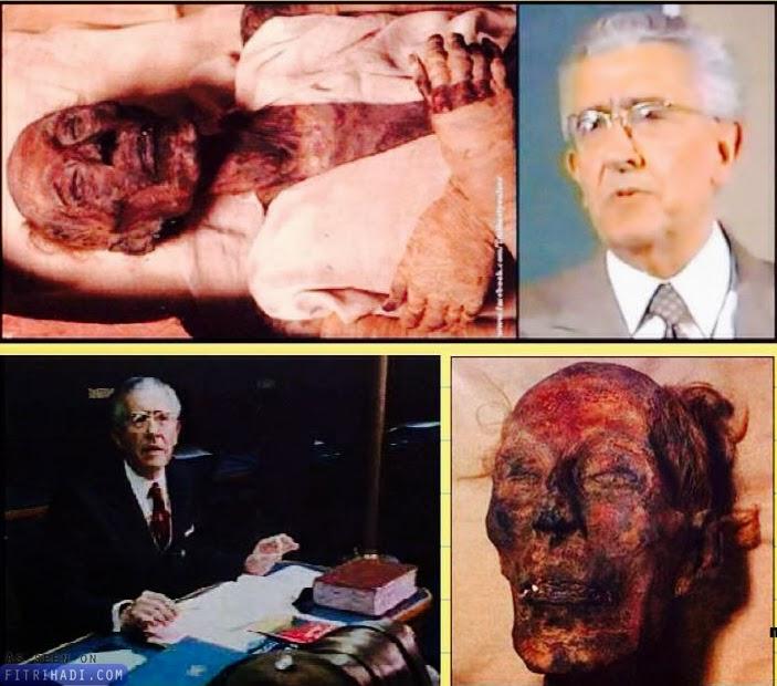 kisah doktor perancis peluk islam lepas bedah mumia firaun
