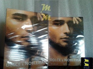perfume dolce & nobleman 120ml