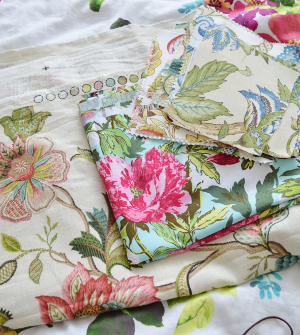 Fabric samples - Amy MacLeod