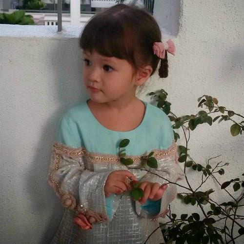 10 gambar instagram anak-anak que haidar &; linda jasmine
