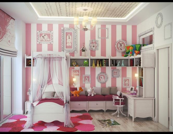 Dormitorios para ni as rom nticas dormitorios con estilo - Dormitorios para nina ...