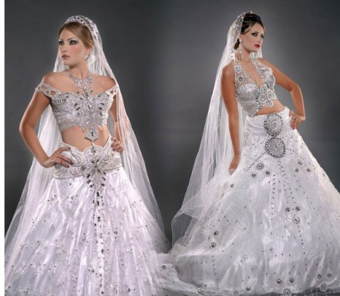 White Wedding Dresses Online India 53