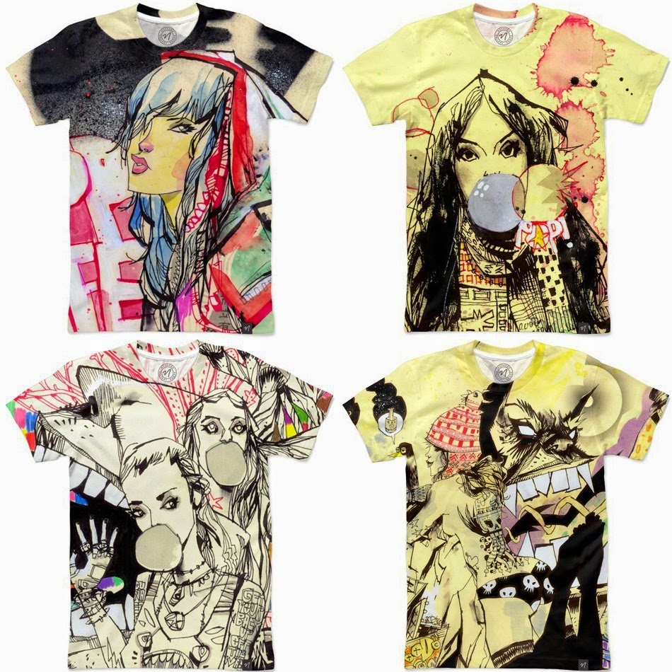 Jim Mahfood T-Shirt Collection by Nuvango