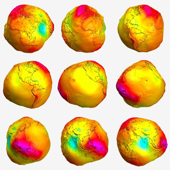 gravitational anomalies josh wieder