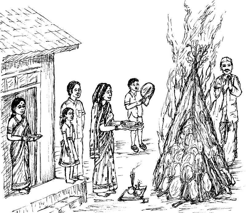 indian dance coloring page holi