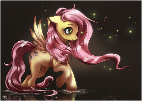 You bring light to this place, Fluttershy