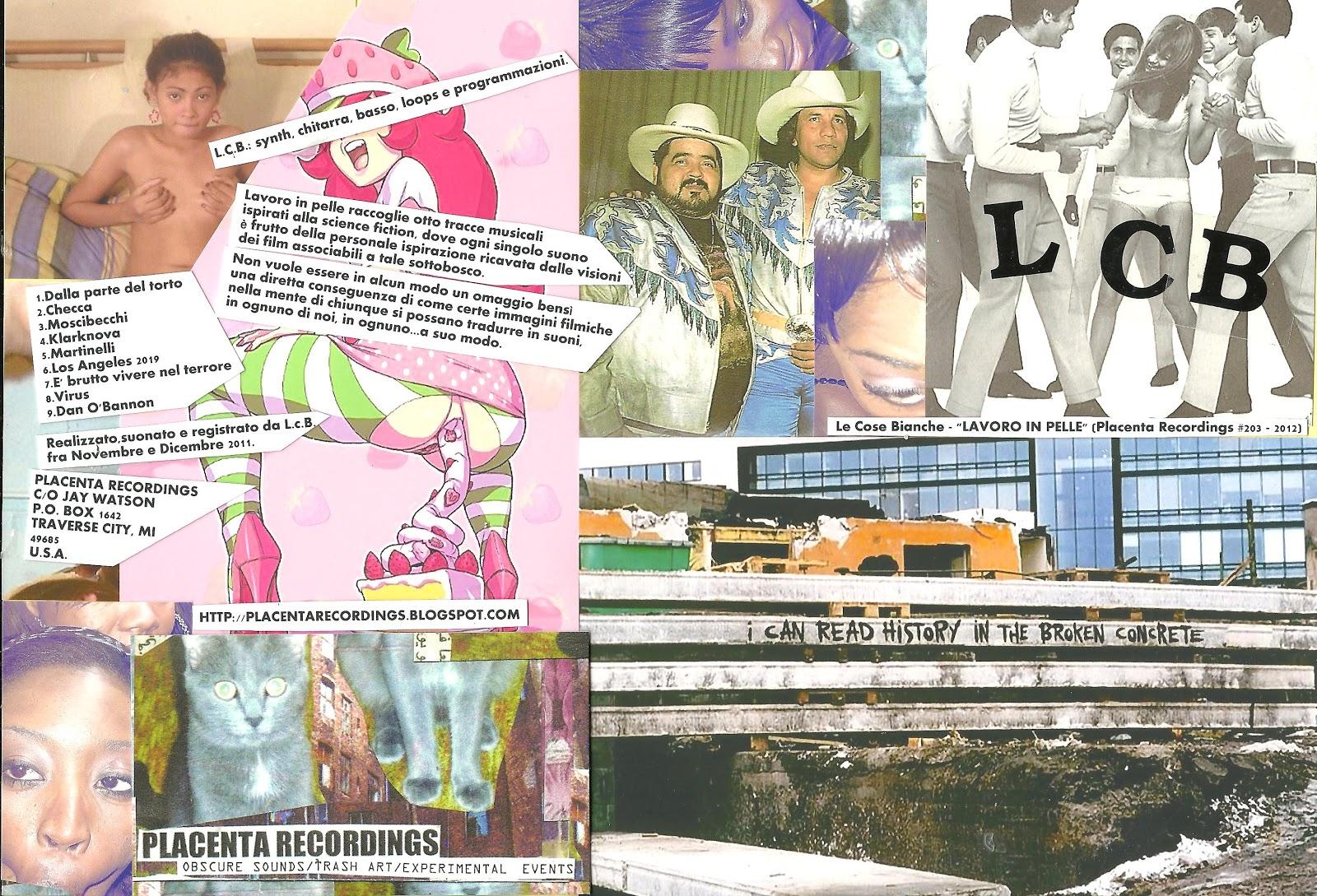Placenta Recordings September 2012