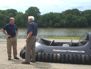 Larry Bucshon visits Hovercraft Training Centers