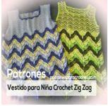 Vestido nena crochet