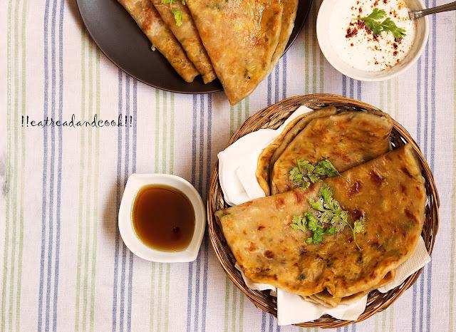 simple aloo gobi paratha recipe