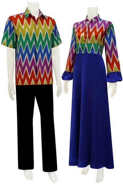 Model Baju Gamis Motif Rangrang Batik Bagoes Solo