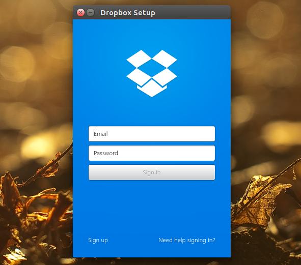 Dropbox Qt UI Linux
