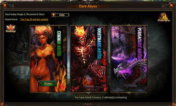 League of Angels Dark Abyss