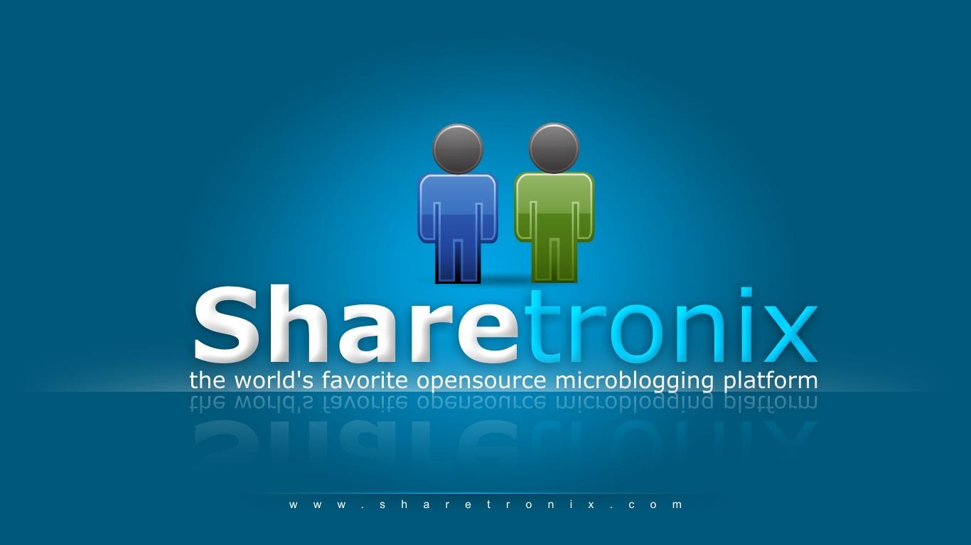 Cara membuat jejaring sosial gratis dengan sharetronix