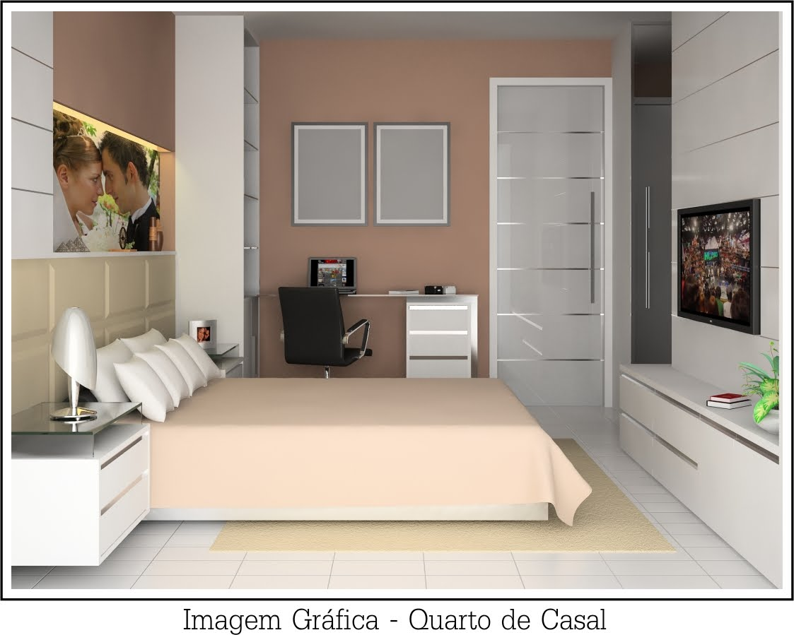 decoracao de interiores quarto de casal: Feminina: Foto de Casal no Quarto – Decoração Quarto Casal