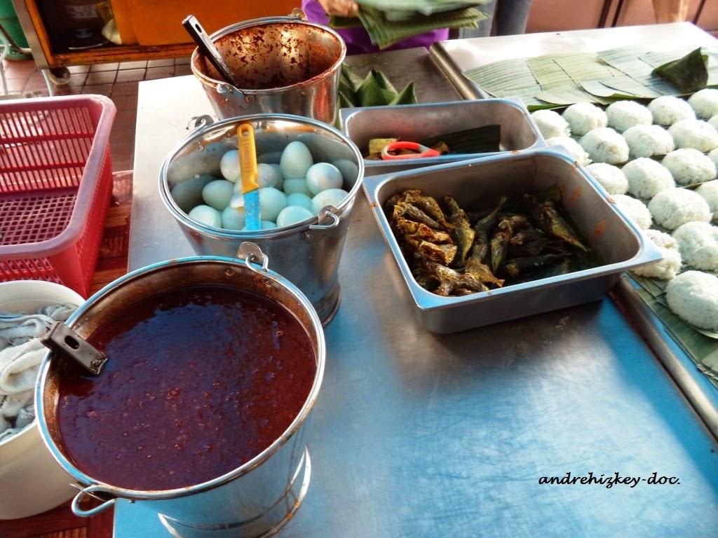 nasi lemak in sri weld food court