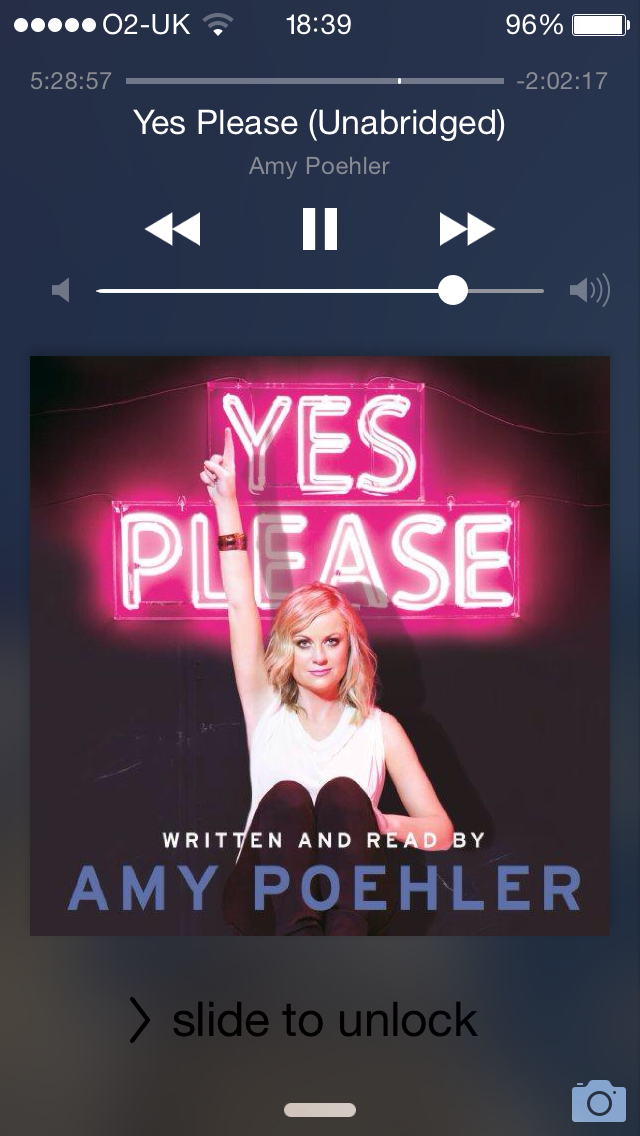 Amy Poehler Yes Please Audible