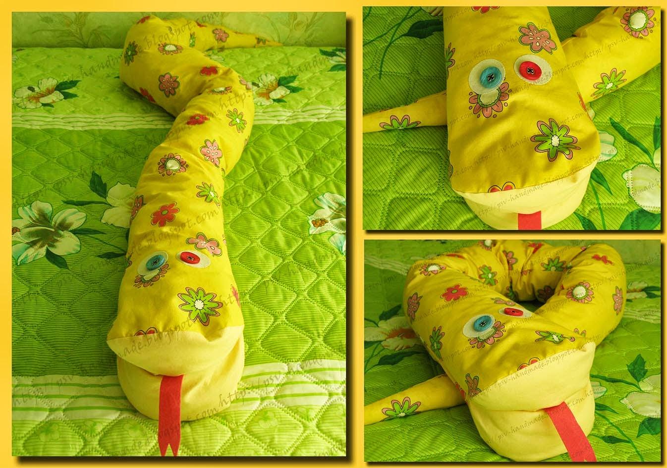 Галерея работ по СП многофункциональной игрушки-подушки Удава