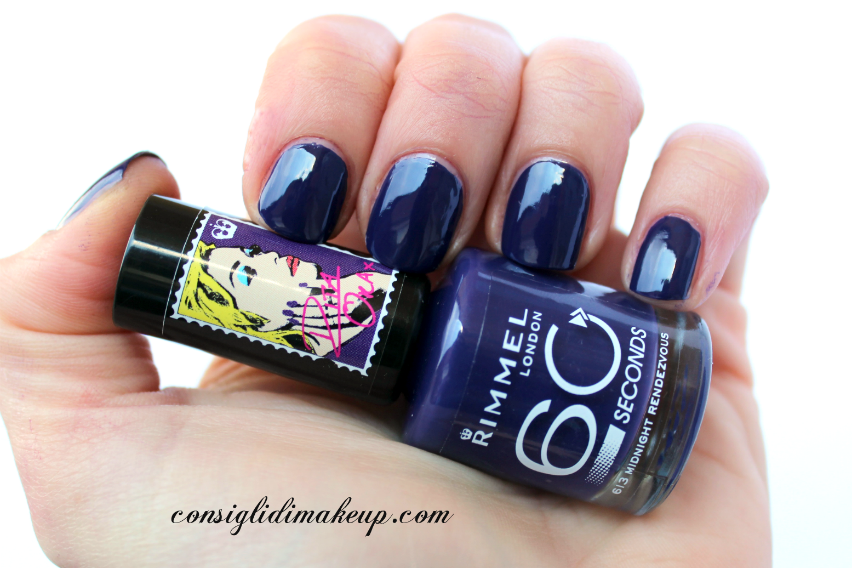 NOTD: 613 Midnight Rendezvous - Rimmel 60 Seconds