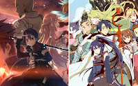 Podzielone Sword Art Online i Log Horizon
