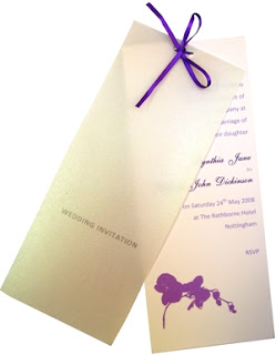 Modern Purple Wedding Invitations2