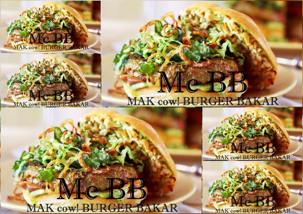 MAK cow! BURGER BAKAR - Mc BB