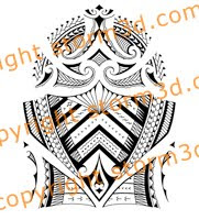 tribal samoan shoulder designs