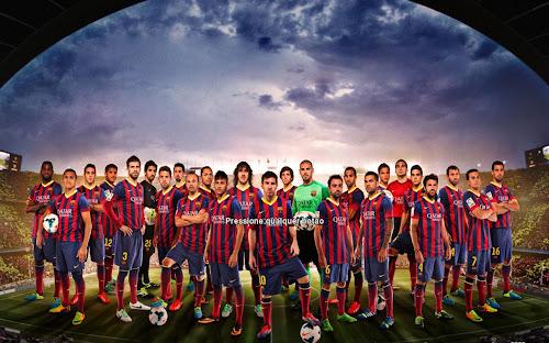 Baixar menu do Barcelona para Pro Evolution Soccer 2014 Pc