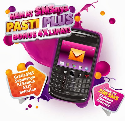 Gratis Nelpon dan SMS Seharian AXIS