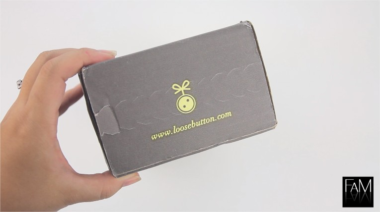 Luxe Box - Loose Button Fall 2012 - Video Review
