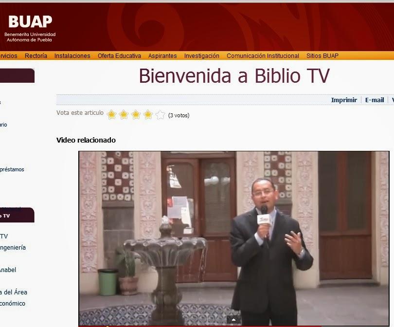 Formación: seminarios...(México-Puebla) Buap-Servicio Documentación Multimedia