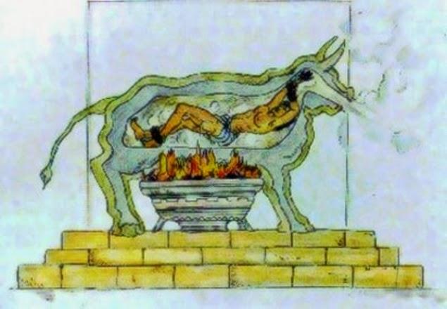 hukuman mati dengan brazen bull