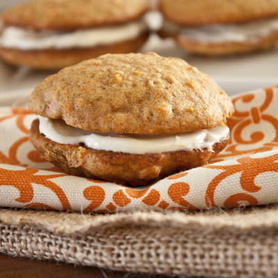 Inside-Out Carrot Cake Cookies