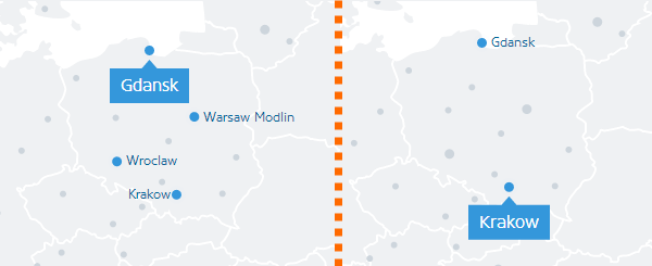 Tanie loty po Polsce