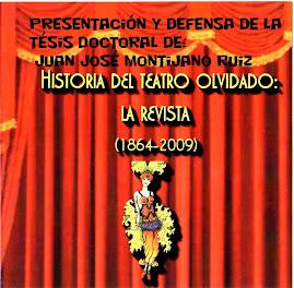 Historia del teatro olvidado: la revista (1864-2009)