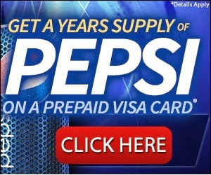 Pepsi Plus Prepaid Visa Card