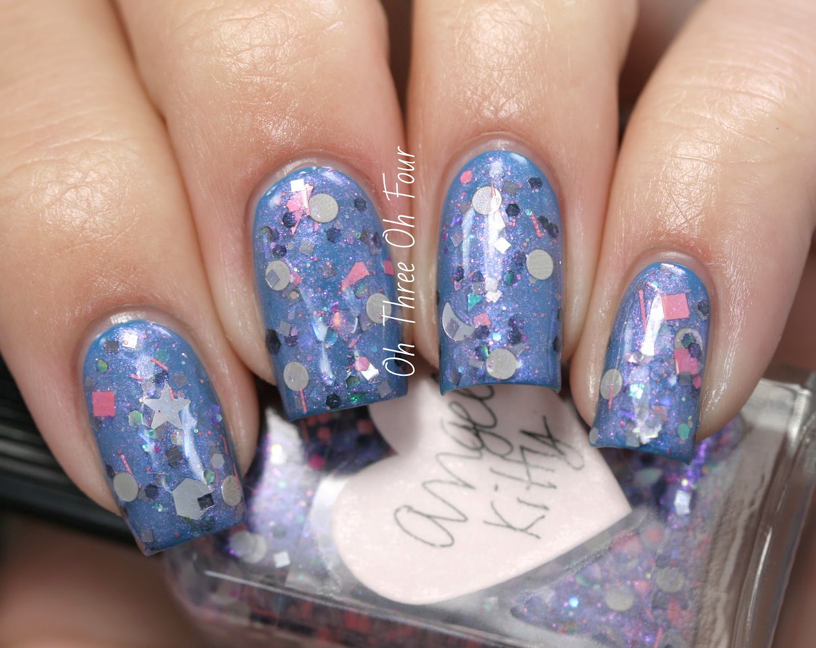 Lynnderella Angel Kitty Swatch