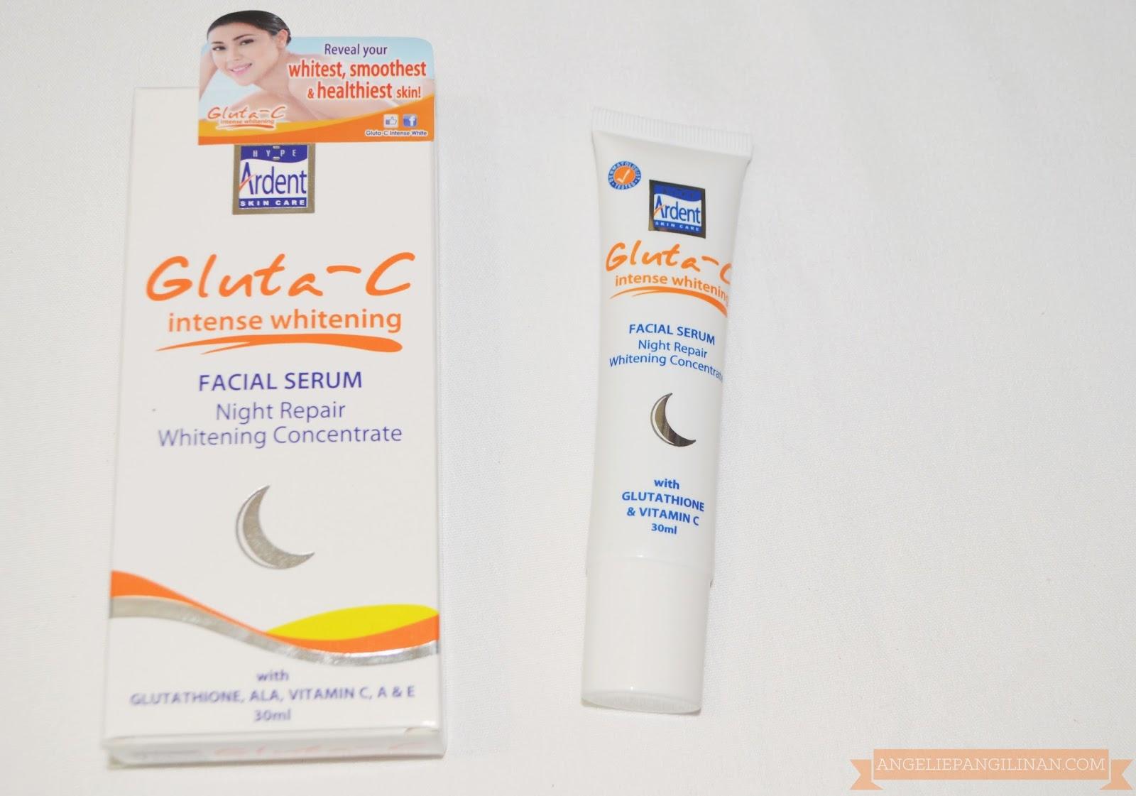 whitening facial serum