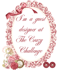 Guest designer, The Crazy Challenge blog