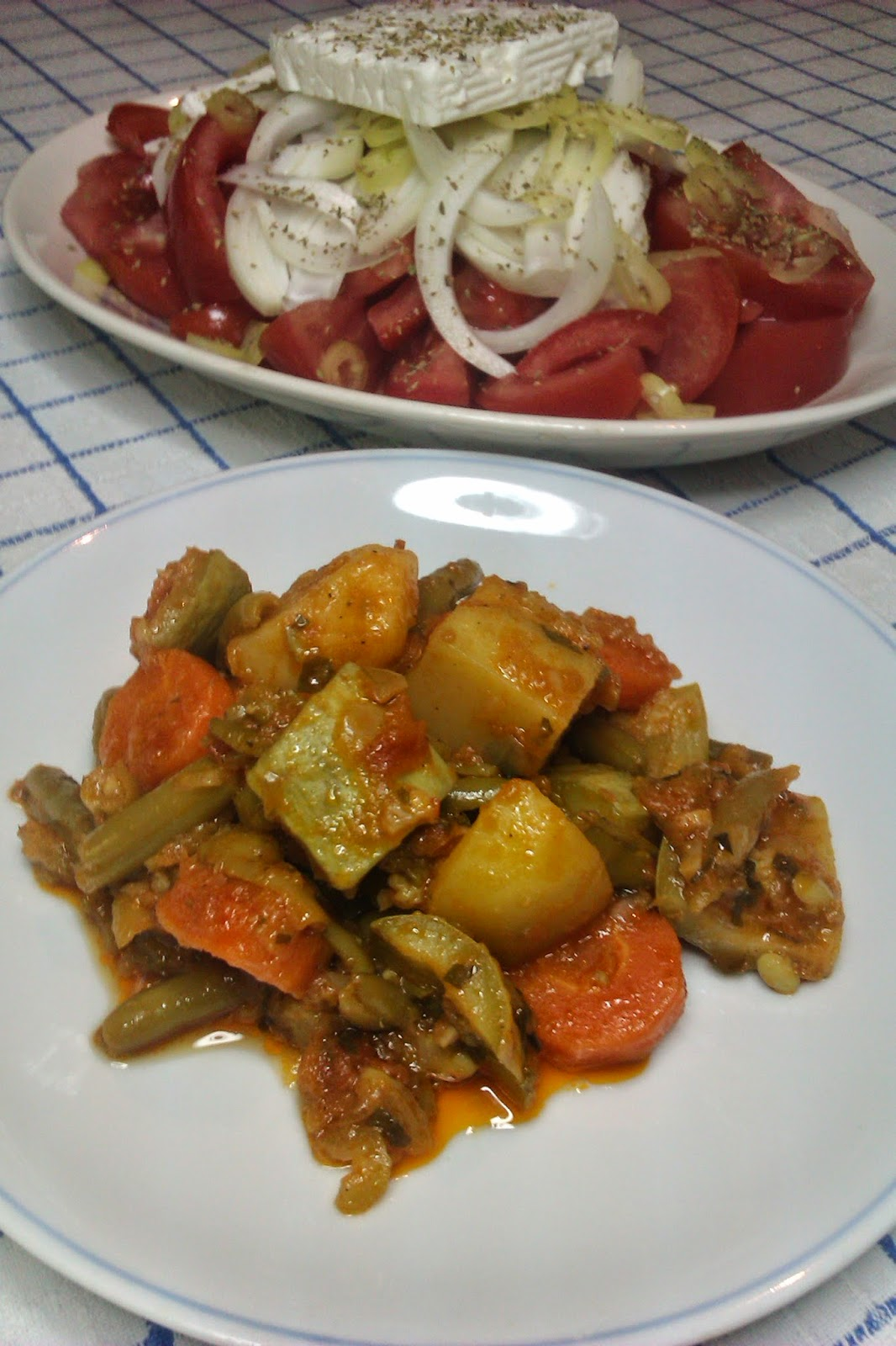 Greek Vegetable Tourlou