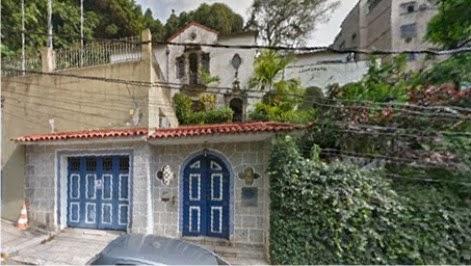 Um dos últimos exemplares da arquitetura neocolonial brasileira...