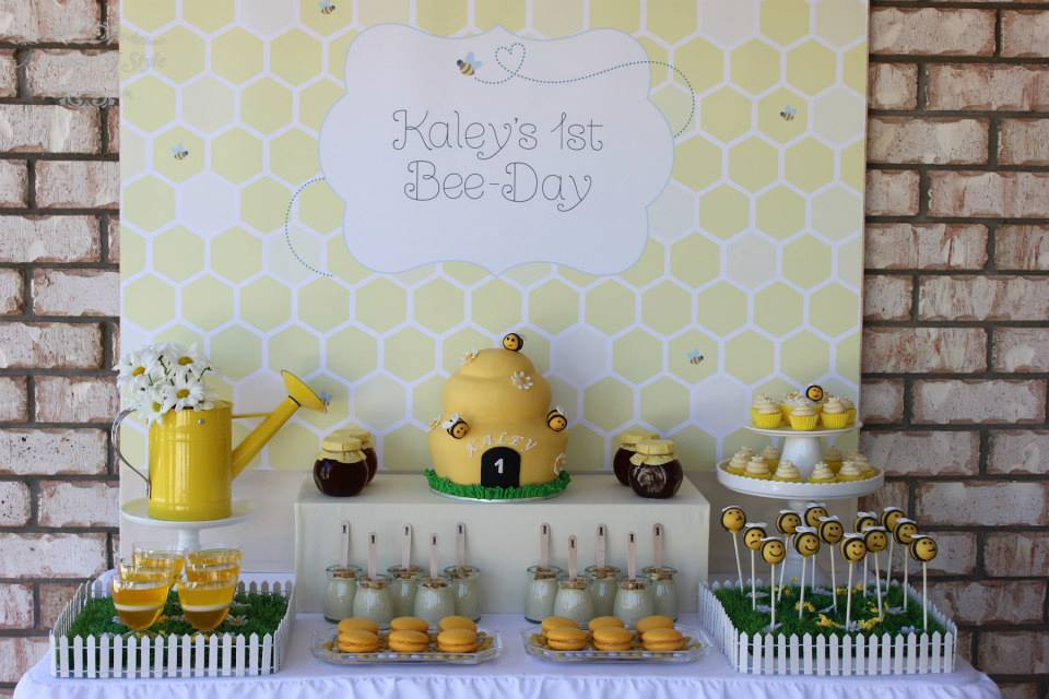 A 1st Bee Day Themed First Birthday By Touch Of Style Events