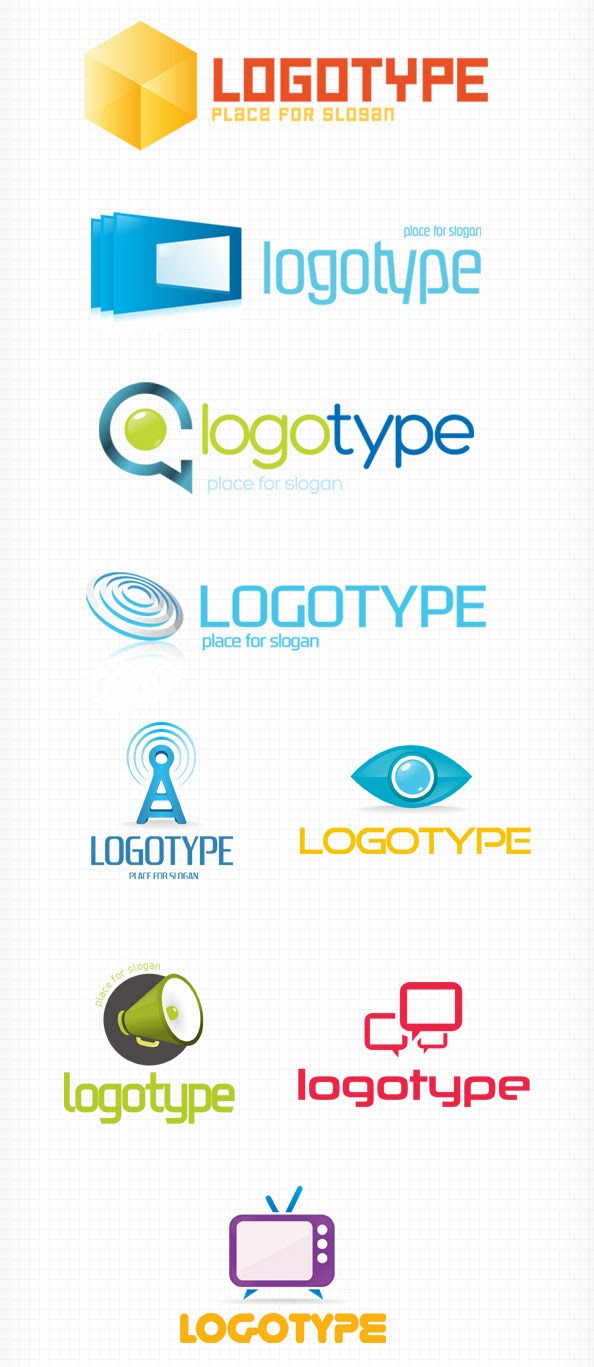 Free PSD Logo Pack