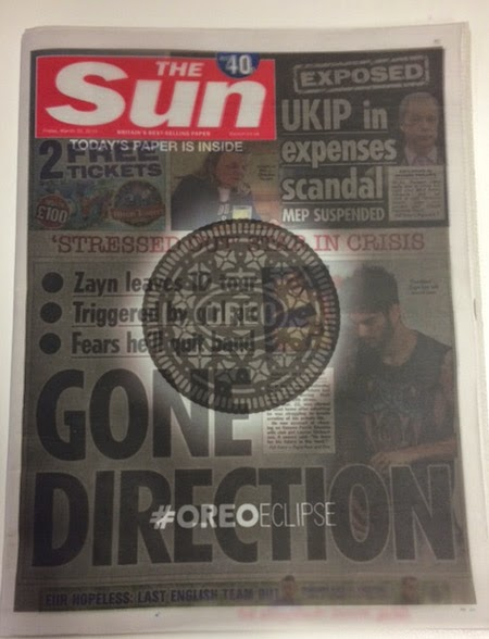 The Sun Blocked Out By Oreo During the Eclipse in Ad Campaign