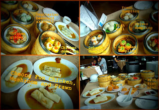 dim sum buffet at eden klia , momentum of my life , makanan sedap