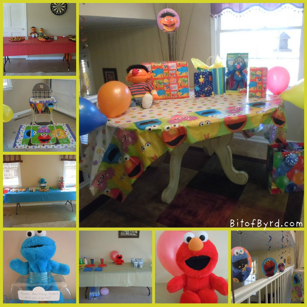 Bit Of Byrd Sesame Street Party Decorations