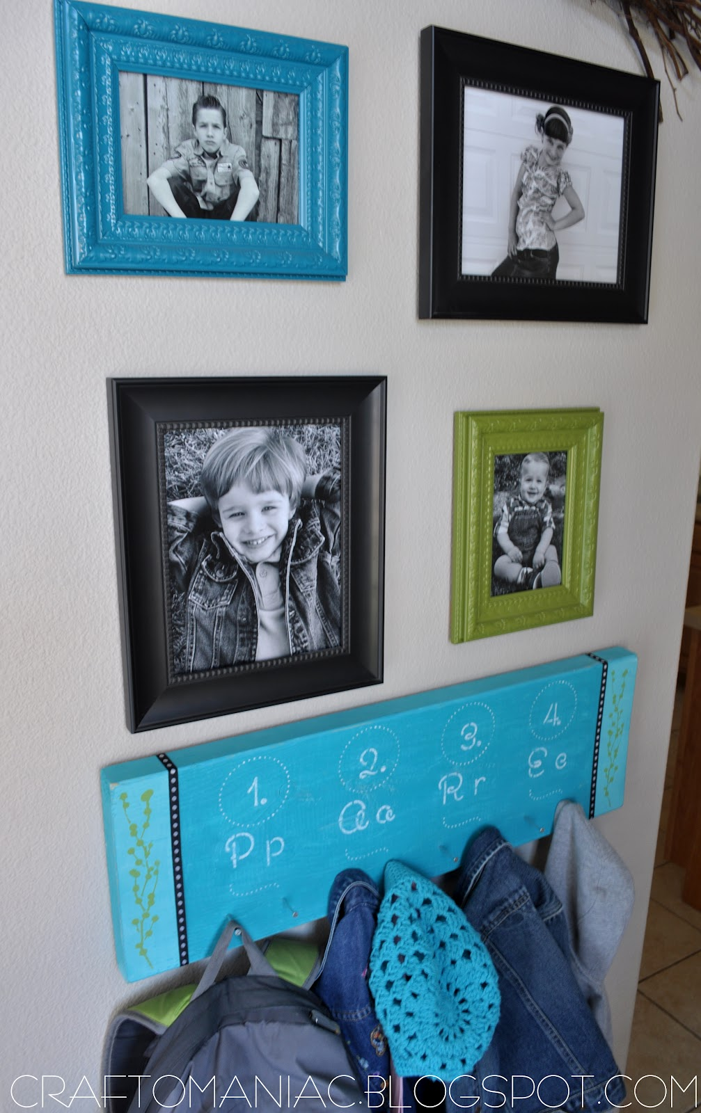 Home Decor ~ DIY jacket and backpack board