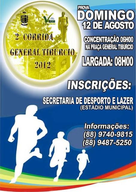 2ª Corrida General Tiburcio 2012