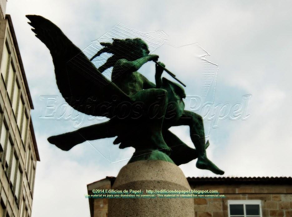 Monumento al Cómic, en Ourense