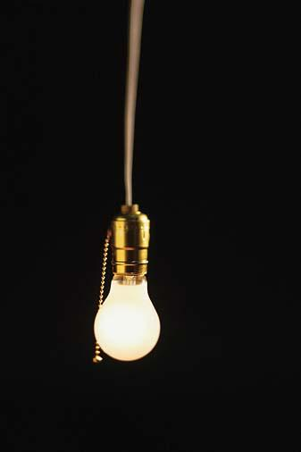 The Bulb Is Off And Just As I Start To Open It Fully The Pull String Snaps  Briskly And The Light ...
